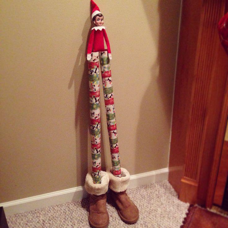 Elf on the shelf stilts