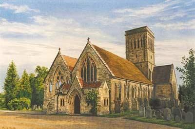 Rusthall Church, Kent, Commissions, Felicity Flutter, SAA Professional Members' Galleries