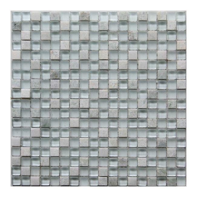 Mozaika Colours 30 x 30 cm marble glass