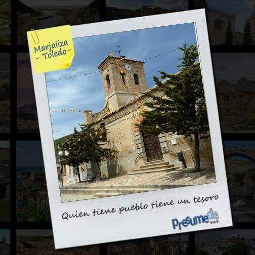 Pueblos de España: #Marjaliza (#Toledo) ¿Es el tuyo? Síguenos en www.facebook.com/presumede y #presumede pueblo www.presumede.blogspot.com #marjaliza #pueblosdetoledo #pueblosdecastillalamancha #castillalamancha #pueblos