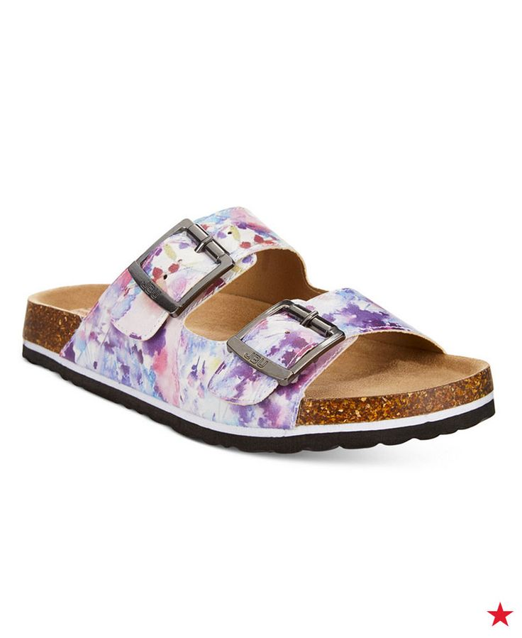 JBU by Jambu's Ellen Too sandals update the classic footbed shoe with memory f…