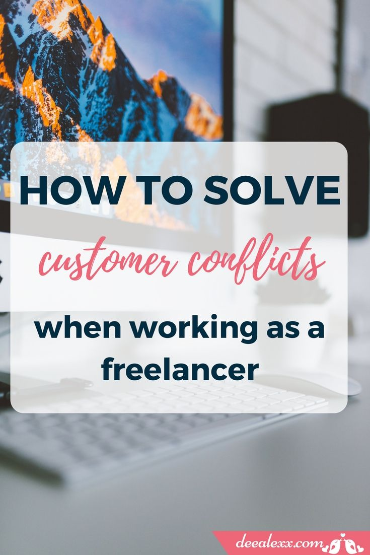 Customer conflicts are part of daily life of a freelancer. Here are some useful advices about how to remain calm and not go crazy when you have to deal with a customer conflict by yourself.