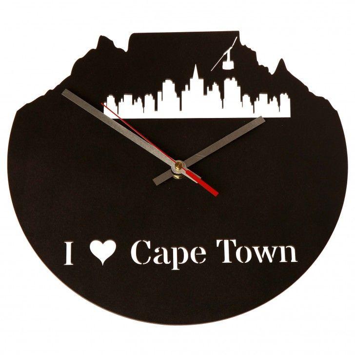 UBERCOOL DESIGNS | Cape Town Wood Clock - Homeware - 5rooms.com