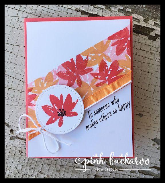 Pink Buckaroo Designs: Avant Garden- Facebook Live Demonstration