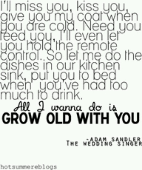 The Wedding Singer Movie Quote Adam Sandler I Want To Find
