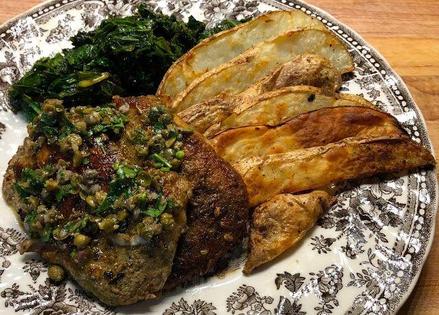 Tuscan Style Pork Chops #BlueApron