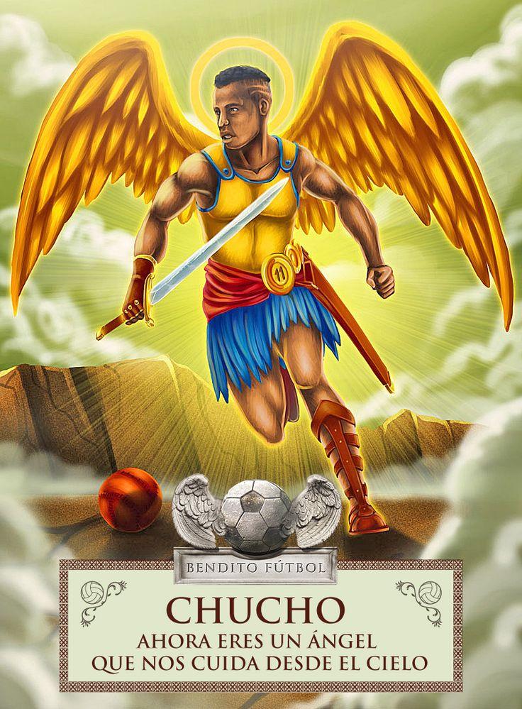 Christian Benítez nos cuida ahora desde el Cielo #ChuchoBenitez #benditofutbol #Ecuador