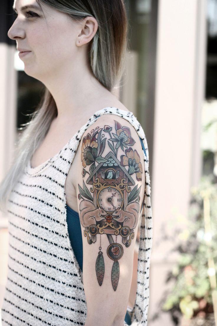 Best 25 Cuckoo Clock Tattoo Ideas On Pinterest