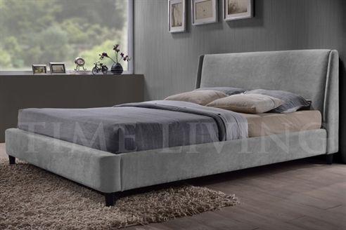 Edburgh Grey Fabric Bedstead