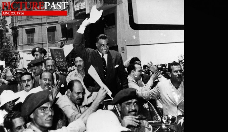 June 23, 1956: Egypt: Gamal Abdel Nasser was elected president of Egypt.