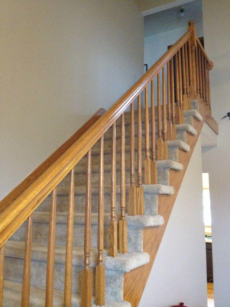 honey oak staircase