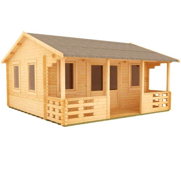 Sigma Log Cabin | 44mm Garden Log Cabins