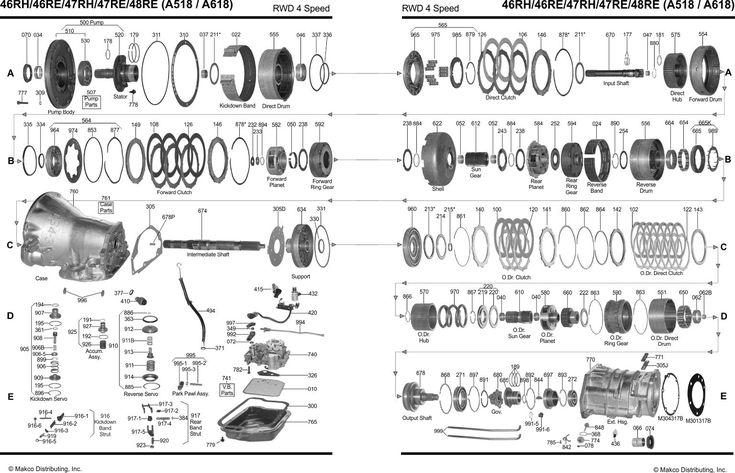 a518 46re a618 47re 48re diagram