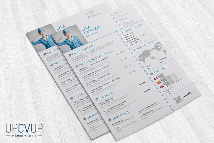 Download Flight Attendant Resume Template In Word Format   Upcvup