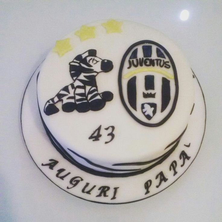 Juventus cake Football cake