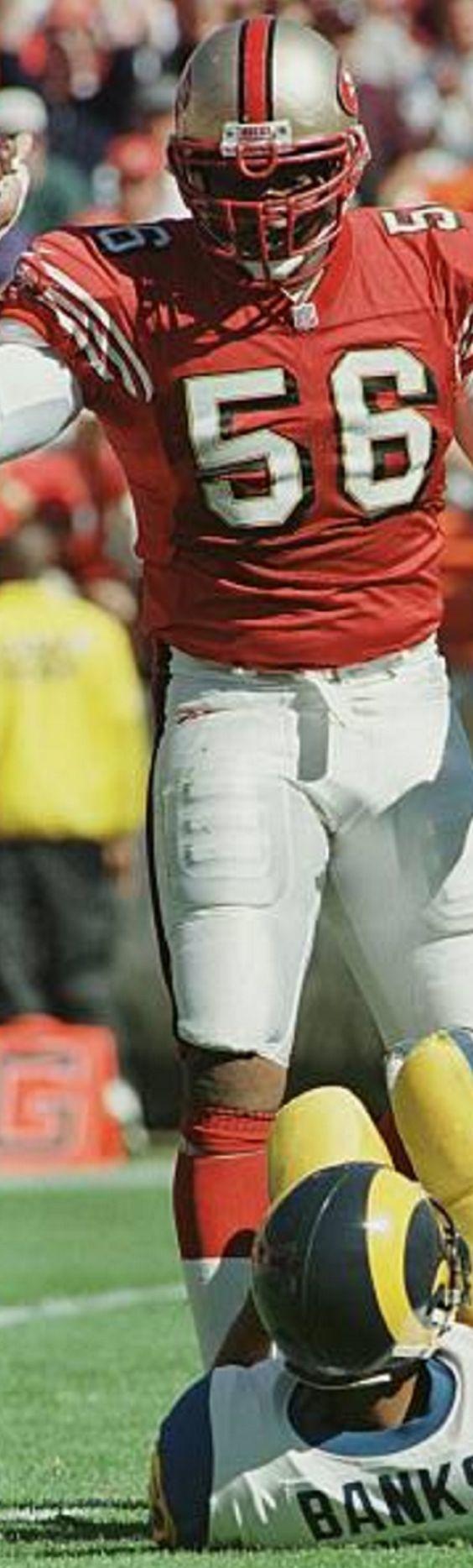 Chris Doleman Career G 232 Sk 150.5 Avg 0.65 #4 sack leader of all time #49ers #sf #sack #football #NFL: