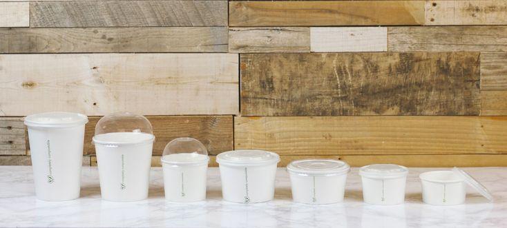 coleccion envases celulosa blanca