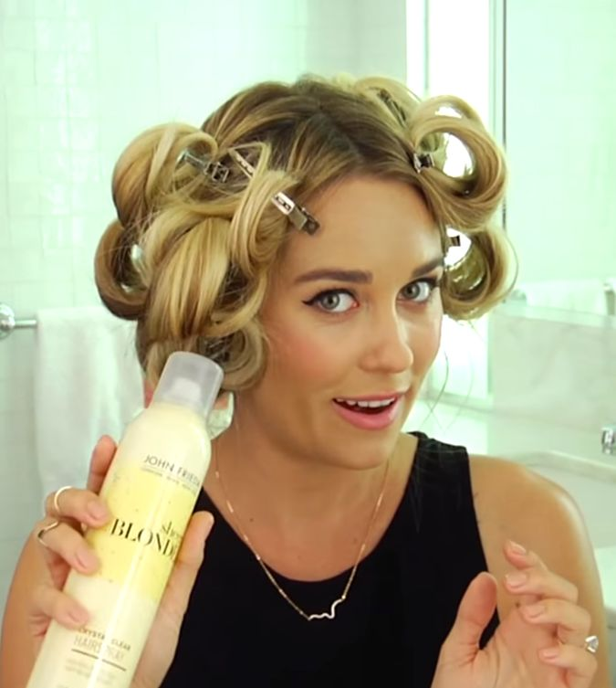 How to Get Lauren Conrad's Easy Beach Waves. Don't worry, it's pretty basic. (See what I did there?)