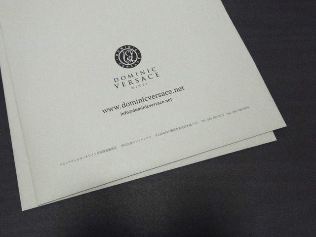 ドミニク・ヴェルサーチ・ワイン グラフィックデザイン ポスター