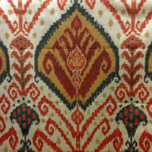 Discount Designer Home Decor table view of this home decor silk fabric at schindlers upholstery shop Sojourn Ikat Spice Home Decor Fabric By Pkaufmann 52404 Buy Fabrics Buy Discount Designer Fabrics Buyfabricscom