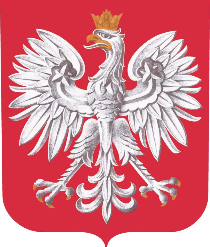 The Polish Coat of Arms.