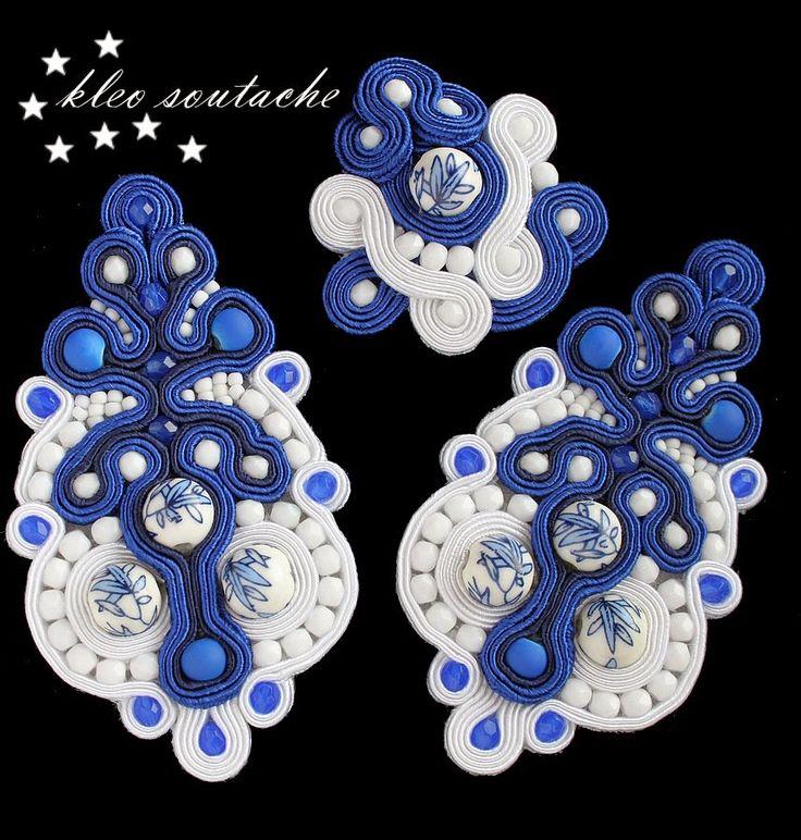 Sutasz Kleo /Soutache jewellery: ARSINOE