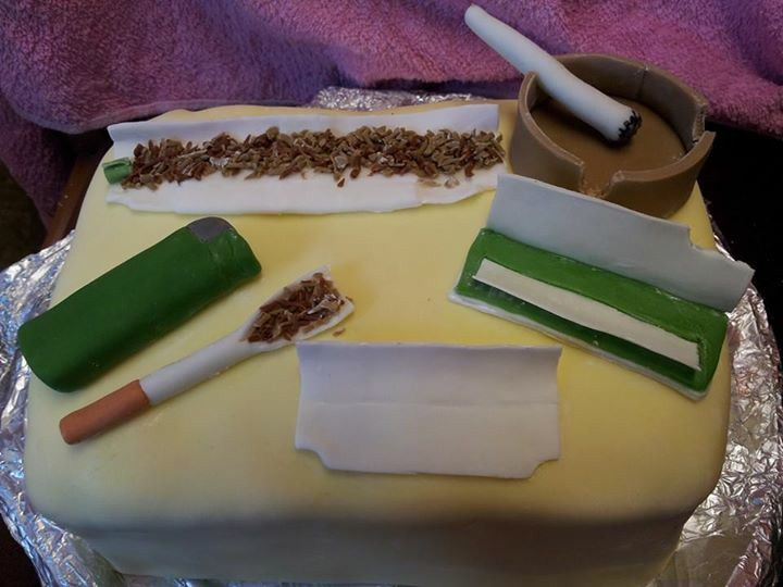 Cigarette Cake Ideas