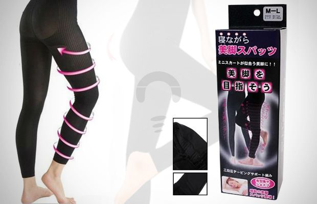 Slimming Legging Legging yang bisa membakar lemak dan selulit pada tubuh kamu. Rp 45.000