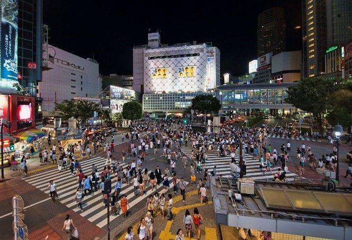 3. 渋谷スクランブル交差点