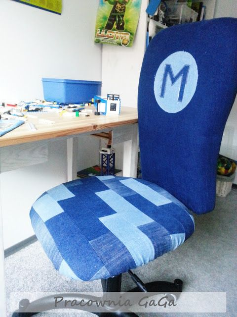 Jeans Recycled Into Furniture