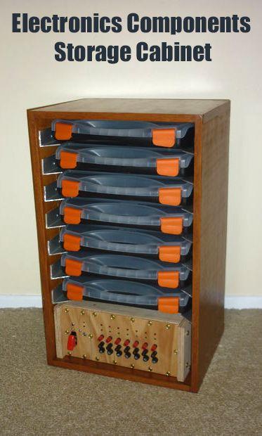 Electronics Components Storage Cabinet II  Electronics