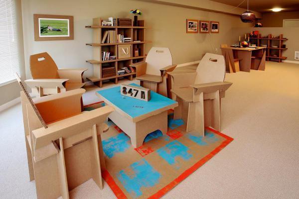 56 best Muebles de cartón images on Pinterest | Cardboard furniture ...