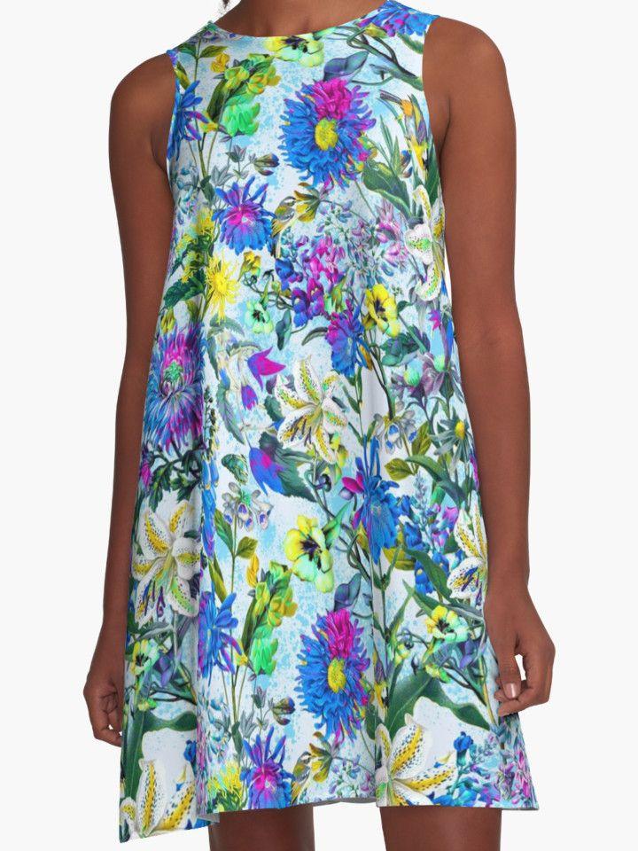 Botanical Garden by RIZA PEKER #women #fashion #summer #dress #floral