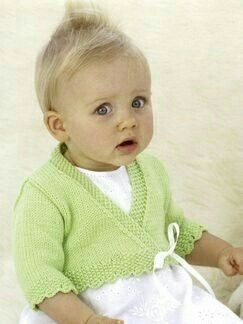 Free Bolero Knitting Pattern For Child : 348 Best images about Saquitos y suetercitos on Pinterest Free pattern, Rav...