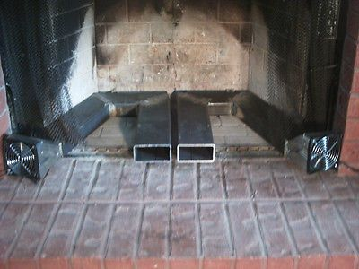 Custom Twin Blower Fireplace Heat Exchanger in Home & Garden, Home Improvement, Heating, Cooling & Air | eBay