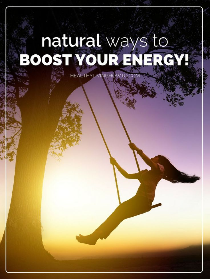 5 Ways to Boost Energy Naturally - wikiHow |Natural Ways Energy