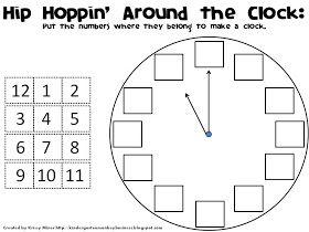 Classroom Freebies: How Do You Teach Time? Come Hip Hop Around the Clock with Me!