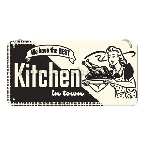 Závěsná cedule - Kitchen - Postershop