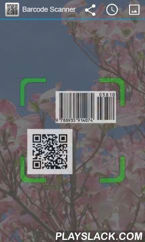 "Barcode Scanner (QR Code)  Android App - playslack.com , ""Barcode Scanner"" operation using a simple one-dimensional barcodes and two-dimensional bar code can be scanned .Needed to generate a barcode can be shared.Strongly at high speed , open the application to a variety of bar code smartphone , you can scan through the camera .Barcode EAN, UPC, ISBN , etc. that you would like to buy products to help you find a place to search for and retrieve information about the product .Short…"