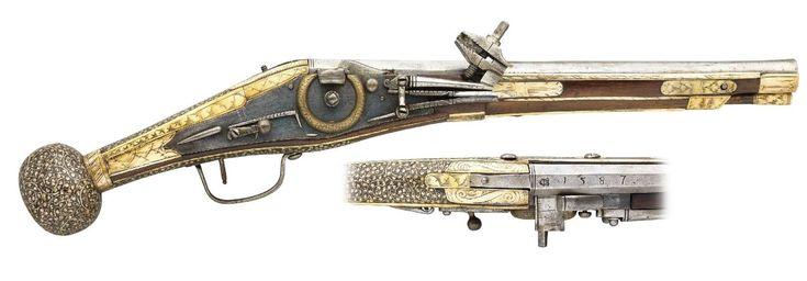 Saxon Wheellock Pistol 1578