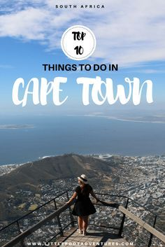 Perfect weather all year round, unique beaches, good shopping, nice nightlife, incredible scenery, exquisite cuisine and interesting history? It's all possible in Cape Town! Check out my TOP 10 things to do at www.littlefootadventures.com