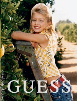 Kymberly Marciano: Interview: Gigi Hadid, GUESS Girl