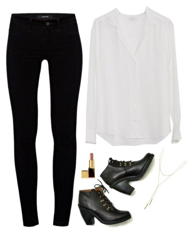 Iris West Inspired Outfit by daniellakresovic on Polyvore featuring polyvore fashion style J Brand Rachel Comey Bloomingdale's Tom Ford clothing