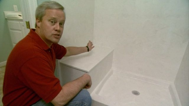 Composite Granite Shower Walls | 627-4-how-to-install-a-cultured-marble-shower-stall