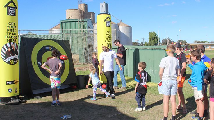 Branded inflatable towers - www.stretchtents.com.au