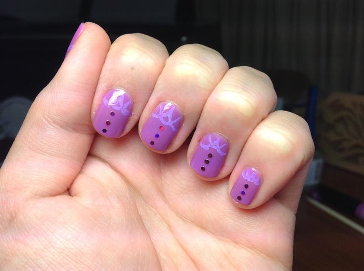 Purple #nails #nailart #nailpolish #nailsaddict