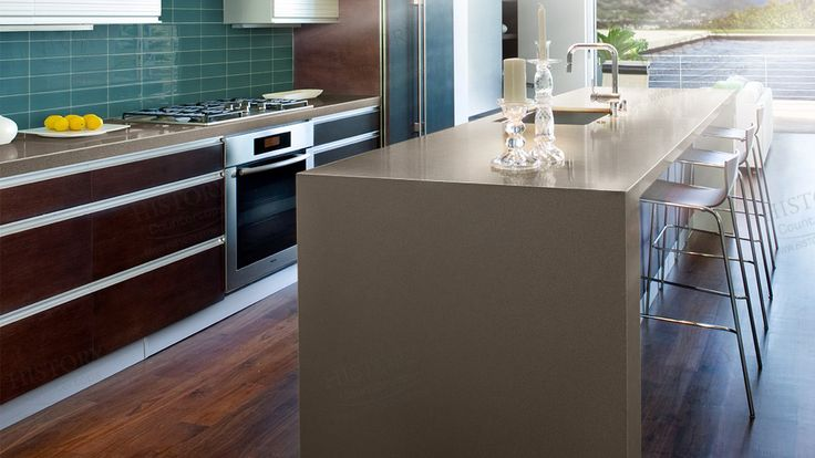 Best Shasta Brown Quartz Countertop, Kitchen Countertops