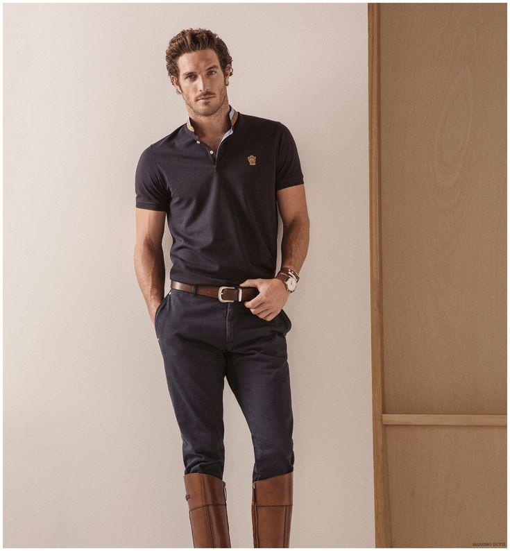 Equestrian Style Fashion Massimo Dutti Spring 2015 Menswear