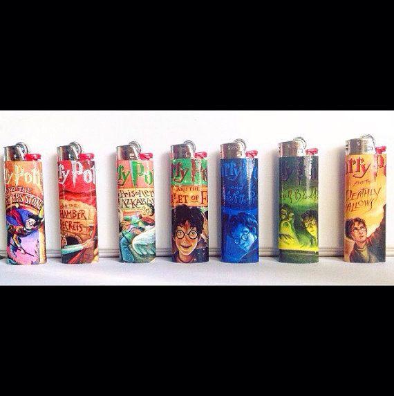 Harry Potter Custom Lighters by Omnivana on Etsy