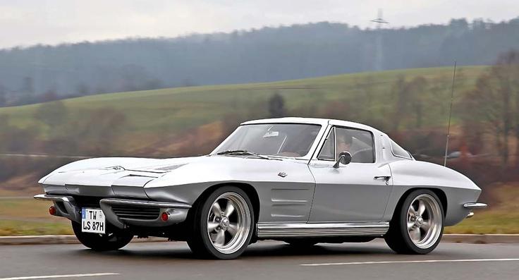 Silver surfer corvette 1963 split window cars for 1963 split window corvette 427